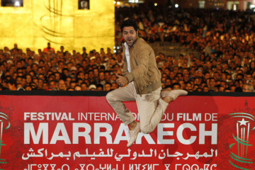 Jamel Debbouze poses during the 13th annual Marrakech International Film Festival in Marrakech