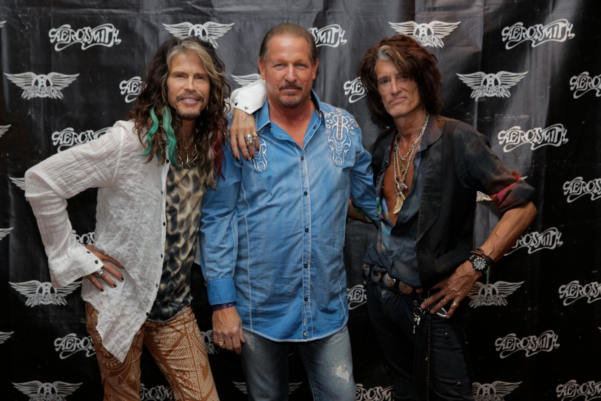 David Mobley and Aerosmith