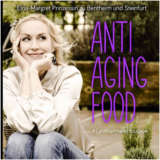 Elna-Margret's new book Anti-Aging Food #EatWhatMakesYouGlow