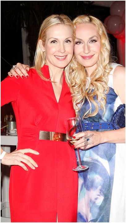 Elna-Margret shares time away from work with one of her best friends, actress Kelly Rutherford.