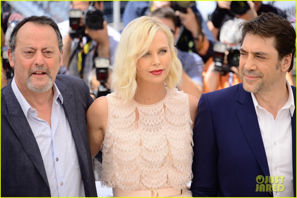 69th Cannes Film Festival - 'The Last Face' - Photocall Featuring: Jean Reno, Charlize Theron, Javier Bardem Where: Cannes, France When: 20 May 2016 Credit: Radoslaw Nawrocki/WENN.com **Not available for publication in Poland**