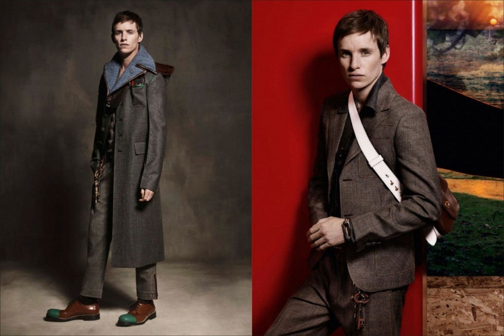 Eddie Redmayne to be the face of the Prada collection1