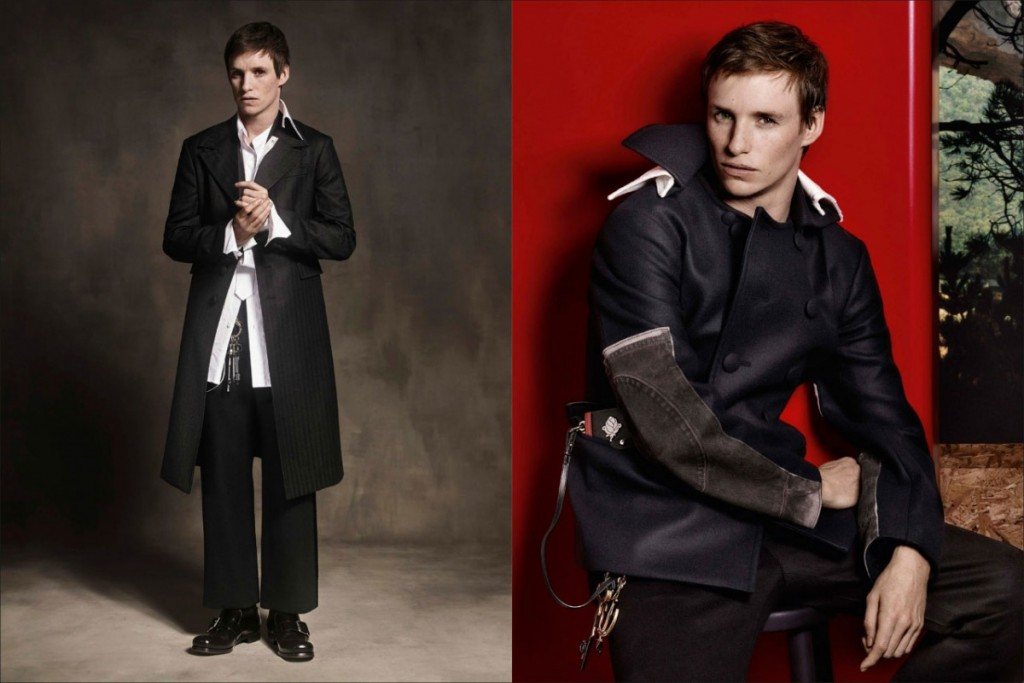 Eddie Redmayne to be the face of the Prada collection3