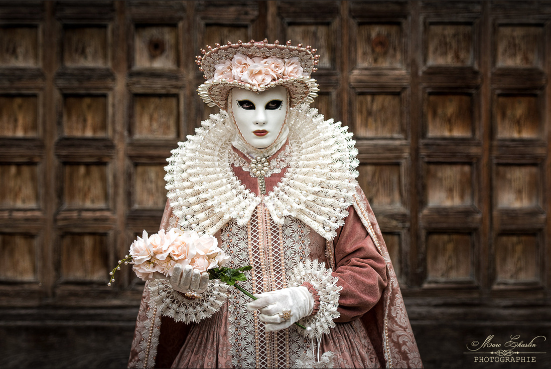Venice Carnival Costumes Of 2017 by Marc Chaslin