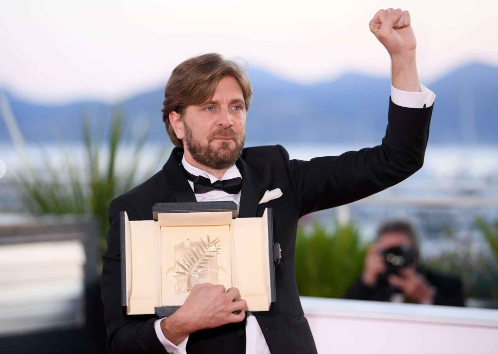 "Winner of the Palme d'or Cannes Film Festival 2017 ""The Square"" by Director Ruben Ostlund"