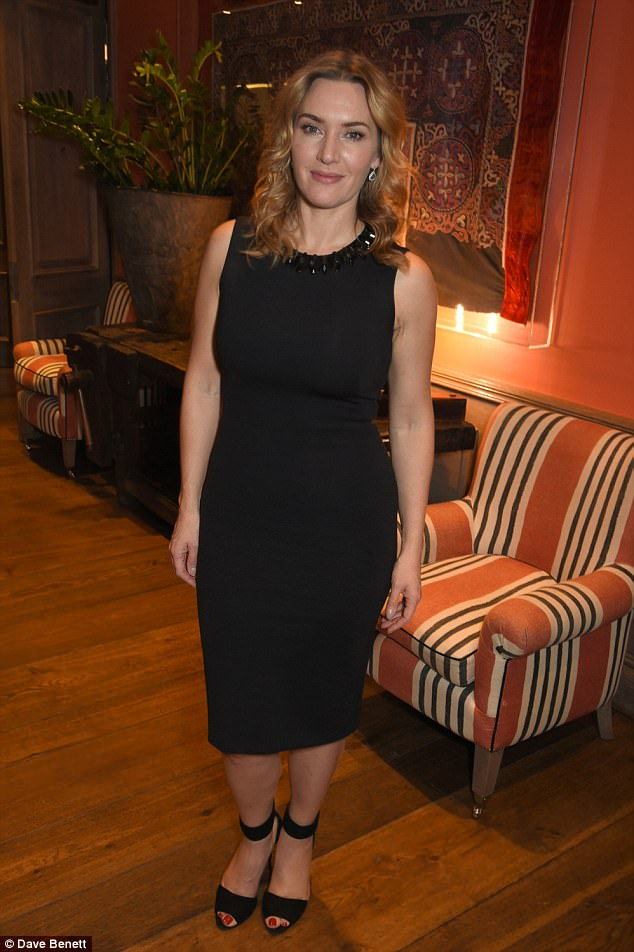 Kate, 42, put on a chic display in an all-black ensemble, as she arrived to celebrate her latest role in the drama