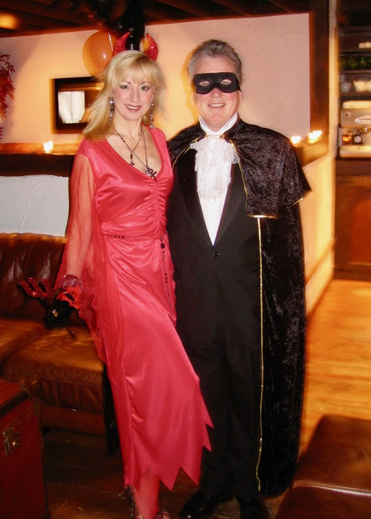 Visions PR hosts a Halloween Party