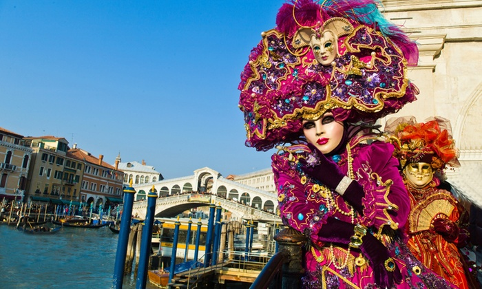 Exotic Colour of the Mask in Venice