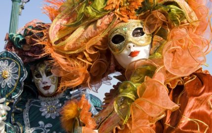 The Colour and Fantasy of the Masquerade Masks  in Venice