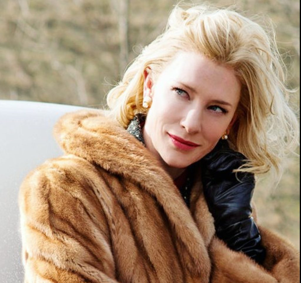 "Cate Blanchett from the film ""Carol"""