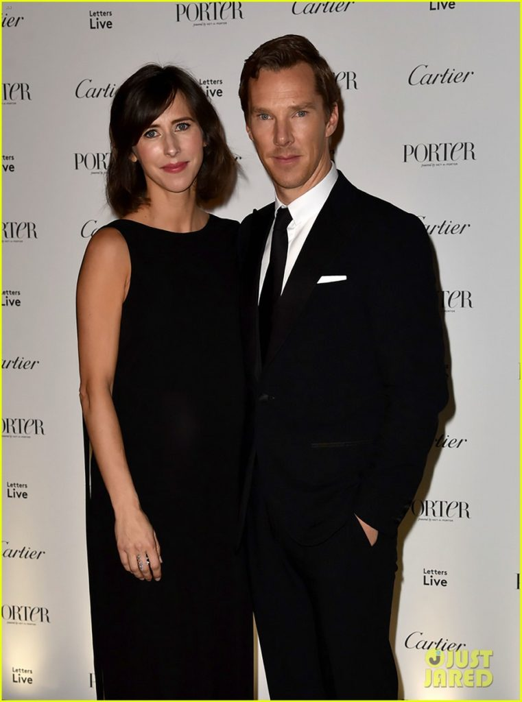 Benedict Cumberbatch & Pregnant Wife Sophie Hunter Celebrate Incredible Women At Porter's Live Letters Special!